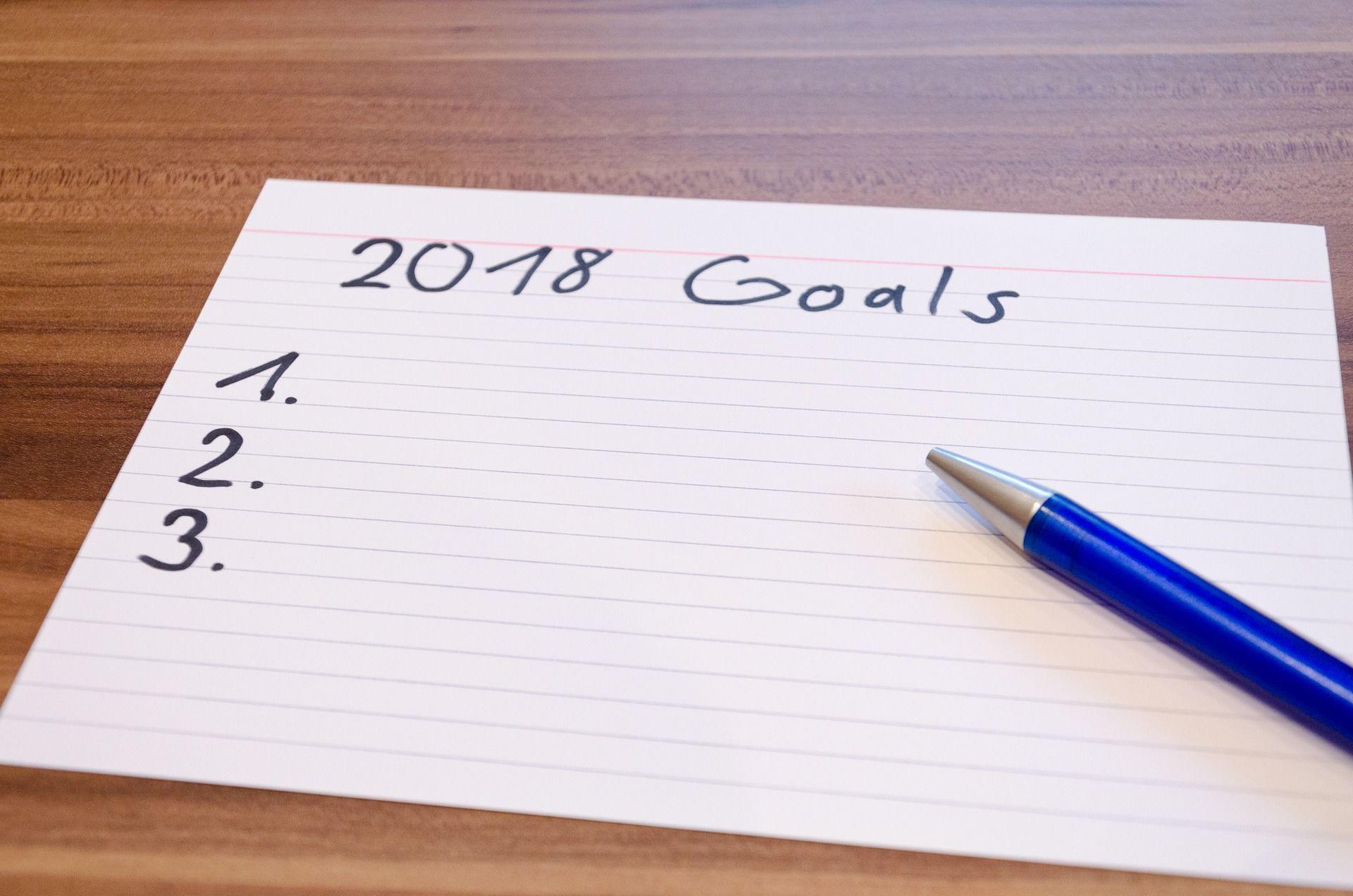 Cíle pro rok 2018
